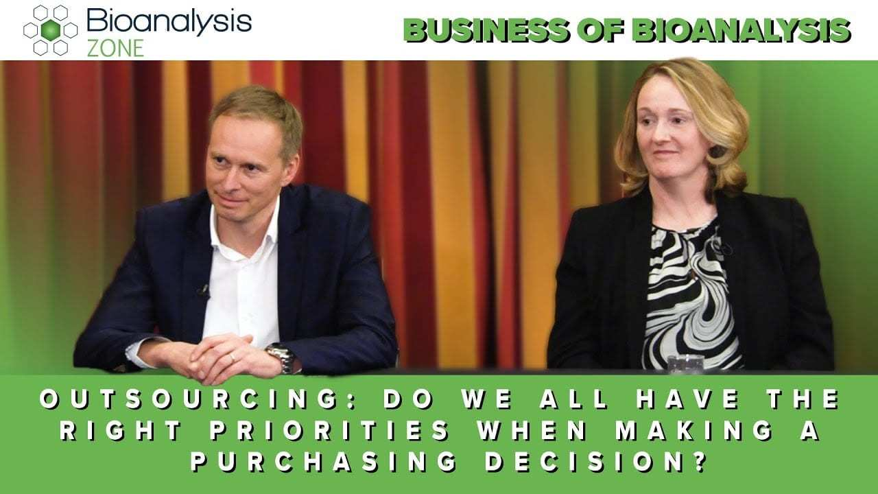 Bioanalysis Panel Discussion Outsourcing